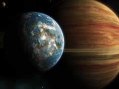 юпитер, land, planet
