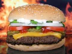 burger, рецепт, кафе