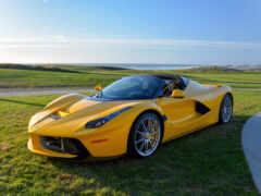 спорткар, car, yellow