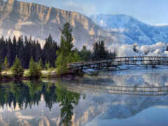 гора, landscape, природа