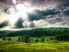 красивый, landscape, природа
