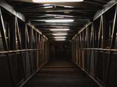 empty, туннель, mobile