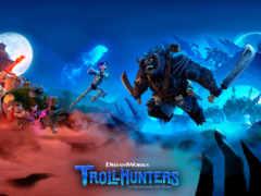 trollhunters, охотники, плакат