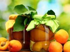 зиму, заготовки, фруктов