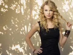 blonde, платье, черном