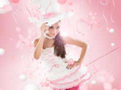 воздушных, платья, шаров Фон № 146715 разрешение 1920x1200