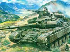 танк, модели, Т-64