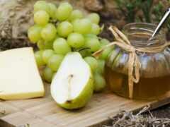 плод, сыр, raw