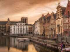 gent, бельгия, город