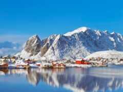 norwegian, гора, норвегия