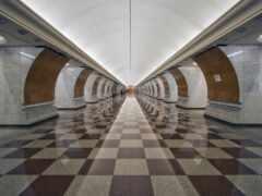 metro, станция, победы