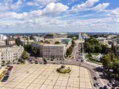 киев, ukraine, square