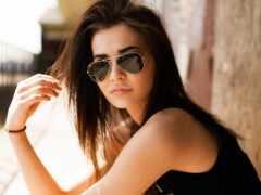 sunglasses, aviator, women