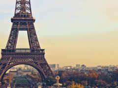 башня, eiffel, париж