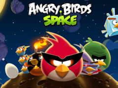 birds, angry, космос