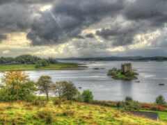 castle, stalker, шотландия