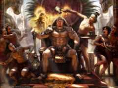 ацтеков, лидер, боги