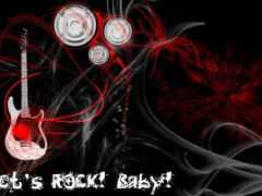 rock, let, baby