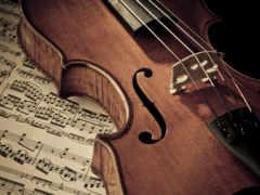 concert, скрипка, ноты
