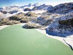 природа, горы, winter