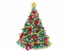 christmas, tree Фон № 31335 разрешение 2560x1600