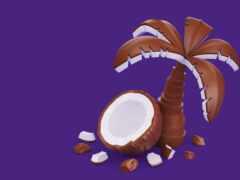 chocolate, milk, кокосовый