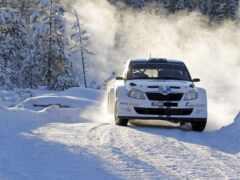снег, car, rally