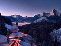 гора, hill, berchtesgaden