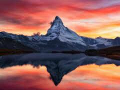небо, маттерхорн, гора