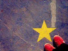звезда, кеды