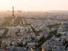париж, aerial, взгляд