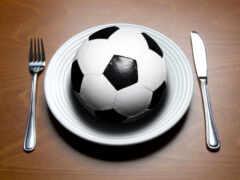 еда, футболистов, футболисты