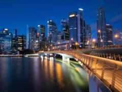 singapore, bay, марина