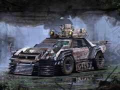 зомби, апокалипсис, vehicle