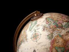 глобус, страны