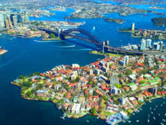 мост, harbor, сиднея