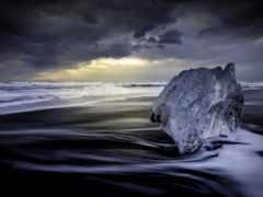 море, art, стена