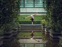 отражение, dance