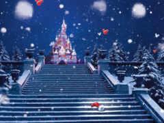 лестница, disney, christmas