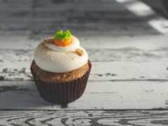 cupcake, торт, zanahoria
