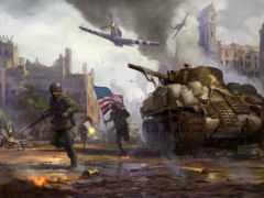 war, game, thunder