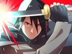 sasuke, anim, naruto