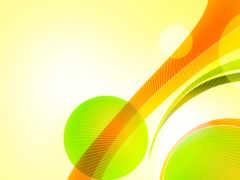 круги, amber, зелёный