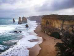 apostles, ocean, дорога
