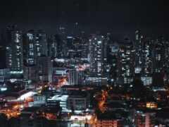 город, dark, ночь