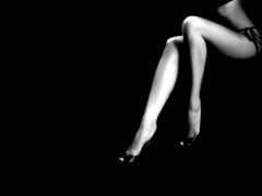 ноги, женские, минимализм