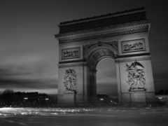 triomphe, arc, париж