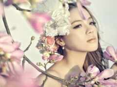 branch, цветы