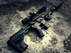 винтовки, винтовка, снайперская