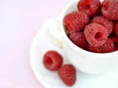 плод, малина, cup